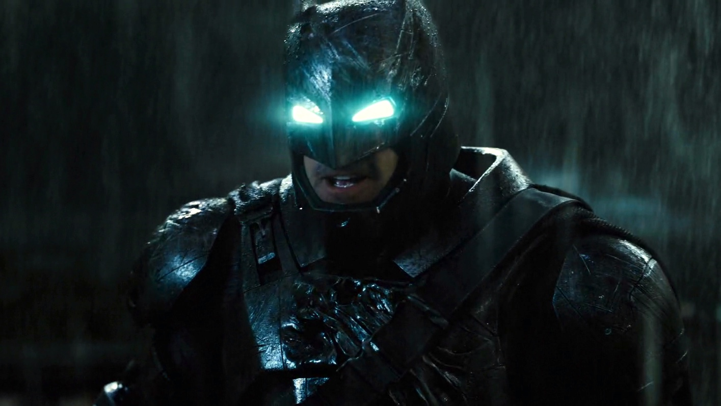 Batman Smirk Batman v Superman